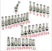 Large types stainless steel 510 drip tips 510 mouthpiece cap...