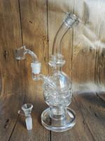 Le plus nouveau bong de verre Faberge Egg Water Pipes Plate-forme pétrolière avec la meilleure qualité bong de verre épais bulleur de verre
