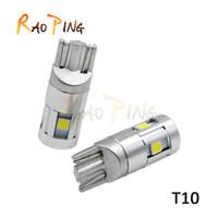 Car Led T10 3030 5smd Width lamp Interior Bulbs For Car Trun...
