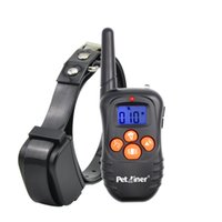 330 Yards Beep and Vibration Rechargeable Remote Dog Trainin...