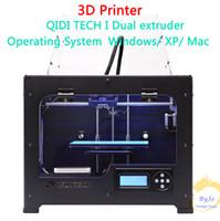 Newest High Quality QIDI TECH I Dual extruder 3D Printer wit...