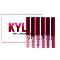 Newest kylie Lip Kit Valentine' s Day Edition 6pcs Set L...