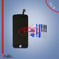 Pour iPhone 6 Black écran LCD avec écran tactile numériseur complet pour 4,6 pouces iPhone 6 lcd outils ouverts