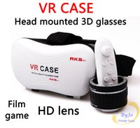 VR- BOX VR case With Gamepad 3D virtual reality glasses mobil...