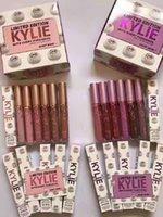 Новый макияж Kylie Jenner Limited Edition с каждой покупкой Кайли Holiday Edition Матовая жидкая губная помада 12 цветов в ассортименте