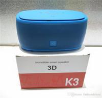 Portable Bluetooth Speakers K3 Super Deep Bass Wireless Subw...