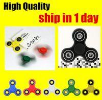 High Quality ABS Hand Spinner Fidget Metal Ball Bearings EDC...