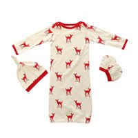 Baby Clothing Baby Romper 3PCS Sets Cute Deer Cotton Boys Gi...