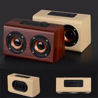 W7 haut-parleurs portables sans fil Bluetooth Haut-parleurs Subwoofer stéréo lecteur de musique TF carte 3,5 mm AUX