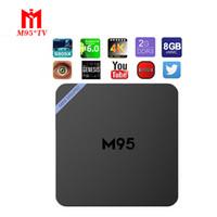 Mini M95 PRO Android 6. 0 TV Box KODI16. 1 Fully Loaded Amlogi...