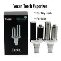 Yocan Torch Vaporisateur Kit Cire Crayon Quartz Dual Coil Portable Cire Vaporisateur Stylo Et Dry Herb Vaporisateur E Cigarette Kits