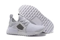 Size 12 NMD Season 3 all White Running Shoes for Men and Wom...