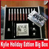 Рождественский подарок Кайли Косметика Праздник Коллекция Big Box PREORDER Международный праздник Коллекция большая коробка высокое качество и лучшие цены