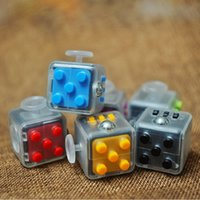 2017 New design crystal Fidget cube the world' s first A...