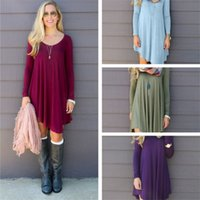 Hot Selling Dresses for Women Clothes Fashion Long Sleeve Au...