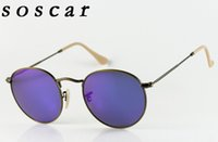 14 Colors for Choose Round Brand Designer Sunglasses Men Wom...