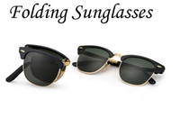 Folding Model Sunglasses Soscar Authentic Brand Designer Sun...