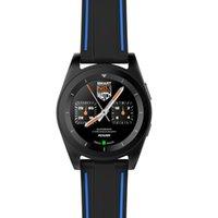 NO.1 G6 Спорт ТПУ кожаный ремешок Bluetooth 4.0 Смарт часы MTK2502 Heart Rate Monitor Спорт Fiteness Tracker для Android ОС IOS Smartphone