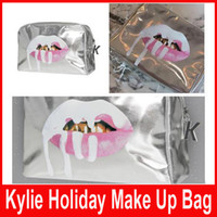 Hot sale Kylie Jenner Holiday Edition make up bag Kylie Cosm...