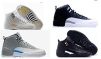 Mens Retro 12 XII shoes basketball Sneakers Men Playoffs Gam...