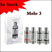 Melo 3 Atomizer 3ml de calidad superior con control de flujo de aire oculto y diseño de llenado superior Melo 3 Tank Fit iStick Pico Mod stick ijust battery