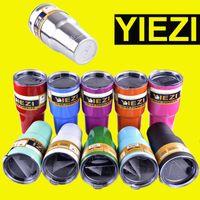 30 oz 12oz 10oz 20oz 18 oz 36 oz 64 oz yiezi Tasses Rambler Cups Rambler Voyage Véhicule Bière Tasse Double Mur dhl libre OTH242