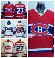 Hockey sur glace 27 Alex Galchenyuk Jersey Hommes Canadiens de Montréal 2016 Winter Classic Ice Hockey Maillots Galchenyuk Stitched Team Couleur Rouge Blanc