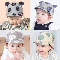 baby hats ball cap beanies Spring and summer cute children b...