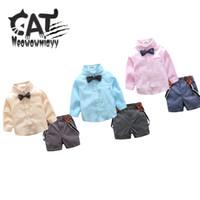 Boys tie gentleman suits 2017 new spring children clothing l...