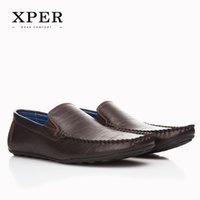 XPER Brand NEW Fashion Men Flats Shoes Hand Made Breathable ...