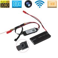 HD 1080p Caméra IP P2P DVR Caméscope Wifi DIY Module Spy Caméra sans fil Motion activé Détection Audio Vidéo pour Android IOS Iphone