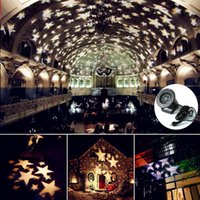 Christmas Snowflake Projector Lamp Colorful Patterns Night L...