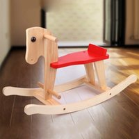 Hot Sales Kids Rocking Horse Solid Wood Children Ride- On Toy...