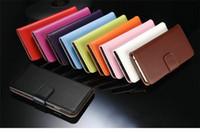 Para Samsung J7 Stand Diseño de la cartera de dinero de bolsillo de cuero Funda teléfono bolsa con titular de la tarjeta para Samsung s6