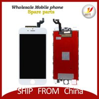 Vente en gros lcd Meilleur AAA qualité pour iphone 6S 4.7inch lcd affichage avec numériseur tactile couleur noir et blanc par la livraison gratuite