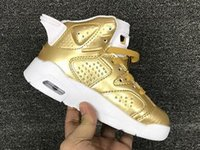 Young Kids Boy Athletic Retro 6 Basketball Shoes, Little Children Girls Infrarouge Oreo black cat sneaker Pinnacle Metallic Gold Sneaker Box