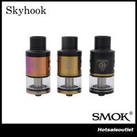 Authentique Smok Skyhook RDTA Réservoir avec 5ml Grande Capacité 23.2mm Bâtiment Deck Smok Skyhook RDTA Refabricable Tank Atomizer 100% Original