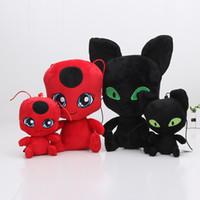 15cm - 30cm Miraculous Ladybug and Cat Noir Juguetes Toy Dol...