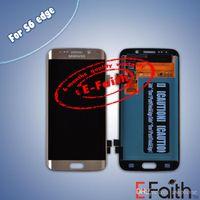Vente en gros-Pour Samsung Galaxy S6 Edge G9250 G925 G925 G925 G925 G925 G925 G G25 G925 G LCD écran tactile Digitizer Assemblée