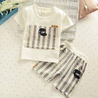 High quality 2017 Baby Girls Boys Clothes Sets Summer Infant...