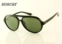 Soscar Pilot Sunglasses Brand Designer Sunglass for Men Fash...