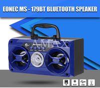 MS-179BT Haut-parleur d'extérieur Mini Portable Bluetooth sans fil Support Radio FM TF / Micro SD Card USB charge Lecteur de musique