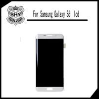 Écran LCD Touch Digitizer Panneaux d'écran complet Remplacement complet de l'Assemblée pour Samsung Galaxy Pour Samsung Galaxy S6 G920A G920T G920V G920