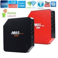 M8S Plus M8S+ Android 5. 1 TV Box Amlogic S905 Quad Core 2. 4G...