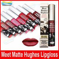 Макияж матовый блеск для губ Знакомьтесь Matt (е) Хьюз долговечны Liquid Lipstick Sexy Red Brand Non Стик Кубок Губы Придерживайтесь 8colors