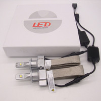 Plug Play 100W 10000LM Car LED Headlight Kit Set H1 H4 H7 H9...