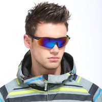 Super Bright Cycling Eyewear for Men Women Polarized Sunglas...