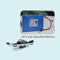 Высокое качество костюмы 10S2P 36v 4.4Ah самобалансировку ионно-литиевых батарей для одного из колес скейтборда / скутер / ховерборд