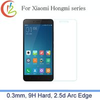 Wholesale- 2. 5D 0. 3mm 9H Premium Tempered Glass for Xiaomi No...