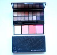 HOT Beauty Makeup Sets 16 Color Eyeshadow Palette + 4 Color B...